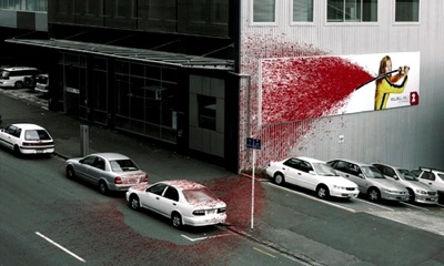 kill bill ambient ad