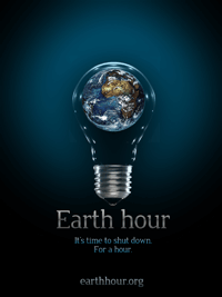 Earth Hour poster